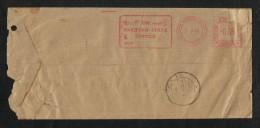 Pakistan Service 1968 Registered Slogan Meter Mark Air Mail Postal Used Cover