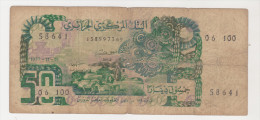 Algeria 50 Dinars 01-11-1977 Good Condition P.130 - Algérie