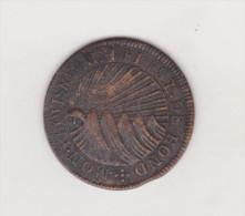 Guatemala HONDURAS Costa Rica 2 Reales 1833 TF Tegucigalpa Print Provisional Coin - Autres – Amérique