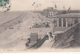 1908 AULT ONIVAL VUE SUR LA PLAGE - Ault