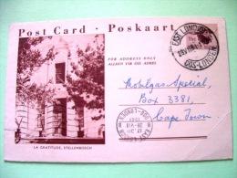 South Africa 1961 Locally Used Pre Paid Postcard - Church - Buffalo - Afrique Du Sud (1961-...)