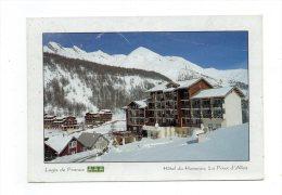 (04) LA FOUX D'Allos-Hotel Du Hameau -Betty Et Michel Lantelme - France