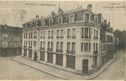 AUXERRE LA SOCIETE GENERALE PLACE DU MARCHE - Auxerre