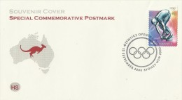 Australia 2000  Olympic Opening Day Souvenir Cover - Australia