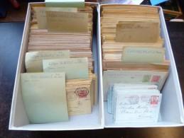 Belgique Tr�s Beau Lot d'environ 800 cartes-entiers avec belles oblit�rations ! ! !