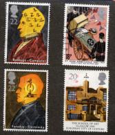TIMBRES OBLITERES  GRANDE - BRETAGNE...BIEN LIRE LE DESCRIPTIF - Briefmarken