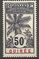 GUINEE N� 43 NEUF* LEGERE TRACE TTB