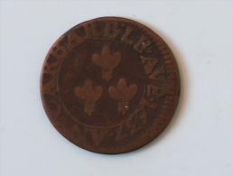 FRANCE DOUBLE TOURNOI 1637 URBAIN VIII AVIGNON - 1610-1643 Louis XIII Le Juste