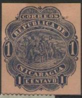 1892 Nicaragua - Definitives Columbus., 1v., MLH - Nicaragua
