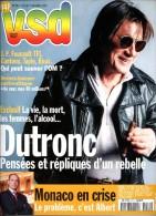 VSD 1211 Marseille OM Deviers-joncour Monaco Albert Jacques Dutronc Mick Jagger Delon Le Cantal Jean Seberg - People