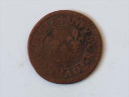 FRANCE DOUBLE TOURNOIS 1618 - 1610-1643 Louis XIII Le Juste