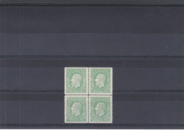 Familles Royales - L�opold II - Congo Belge - COB 1 ** - MNH - en bloc de 4 - r�impression - valeur originaux = 160 �