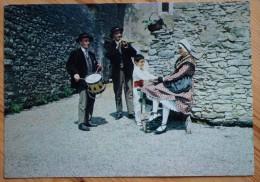 34 : Castelnau-le-Lez - Groupe Folklorique Lou Roc De Substancioun - L'Aubade - Animée - Plan Inhabituel -(n°2314) - Castelnau Le Lez