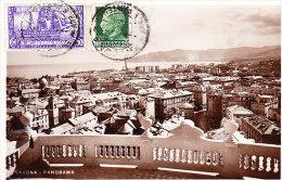 SAVONA - Panorama, Fotografica, Bella Affrancatura, Viagg.1925 - AGO-16-44 - Savona