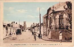 85 - L'Aiguillon-sur-Mer - La Grande-Rue, A Droite Le Bureau Des P.T.T. (colorisée) - Other Municipalities