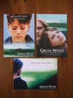 Grune Wuste Movie Film Lot De 3 Cartes Postales - Cinema