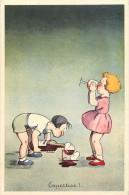 Ref  B55- Publicité Vin Alcool -f Seneclauze -oran-algerie -dessin Illustrateur Enfants  - Carte Bon Etat - - Oran