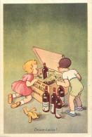 Ref  B54- Publicité Vin Alcool -f Seneclauze -oran-algerie -dessin Illustrateur Enfants  - Carte Bon Etat - - Oran