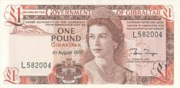 Gibraltar 1 Pound 1988 Pick 20e UNC - Gibraltar