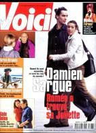 Voici 697 Damien Sargue Mylène Farmer Alain Delon Marlon Brando Lambert Moss Banderas Dechavanne - People