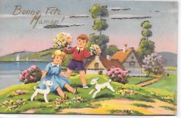 BONNE FETE MAMAN ! - Carte Pailletée - Fête Des Mères