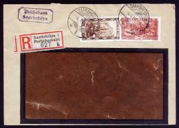 A2864) Saargebiet R-Brief Vom Postscheckamt Saarbrücken 4.4.1930 - Deutschland