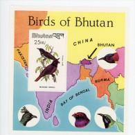 Bhutan 1982-Oiseaux,oriole-YT B81***MNH - Pájaros Cantores (Passeri)