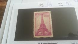 LOT 218026 TIMBRE DE FRANCE NEUF** N�429 VALEUR 17 EUROS