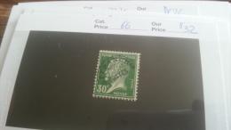 LOT 218043 TIMBRE DE FRANCE NEUF* N�66 VALEUR 32 EUROS