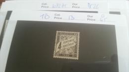 LOT 218047 TIMBRE DE FRANCE OBLITERE N�13 VALEUR 45 EUROS