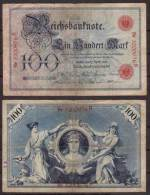 Deutsches Reich , 100 Mark , 1903 , RB-20 , VG - 100 Mark