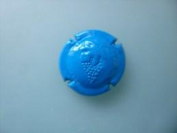 Capsule Generique Bleu Grappe De Raisin - Capsules & Plaques De Muselet