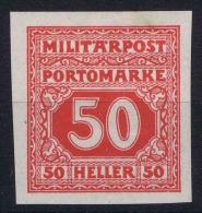 Österreichisch- Bosnien Und Herzegowina Mi. Porto 24  U MH/* - Portomarken