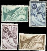 Taiwan 1960 Cross Island Highway Stamps Bus Rock Geology Mount - Unused Stamps