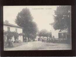 40 St Julien En Born Le Carrefour édit. Bernède Animée - Other Municipalities