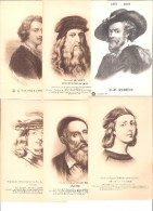 Lot De 12 Cartes De Peintres Célèbres (une Seule A Voyagé). - Peintures & Tableaux