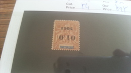 LOT 218101 TIMBRE DE COLONIE MARTINIQUE NEUF* N�54 VALEUR 27 EUROS