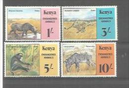 KENYA  No  Y Et T  348  à  351   NEUF XX Animaux - Kenya (1963-...)