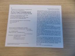 Doodsprentje Engel Vanderghote Oostduinkerke 15/7/1908 - 2/4/1994( Margriet Pylyser) - Religion & Esotericism
