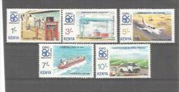 KENYA  No  Y Et T  365  à  369   NEUF XX - Kenya (1963-...)