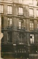 75 - PARIS - BELLE CARTE PHOTO DU 27 RUE SAINT ANDRE DES ARTS - IMMEUBLE - ANCIENNE CLINIQUE - Arrondissement: 06