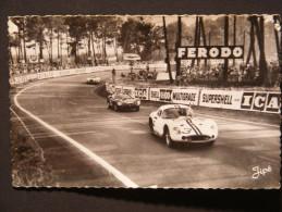 CPSM Le Mans (72) - Course Automobile - Circuit Des 24h - Dans Les S Du Tertre Rouge - Le Mans