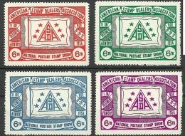 USA 1954 Philatelic Exhibition Stamp Show MNH - Erinofilia