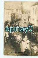 Br - 29 - LANDIVISIAU - CARTE PHOTO - Procession Du Saint Sacrement Le 8 Juin 1907 - RARE DOCUMENT - Landivisiau
