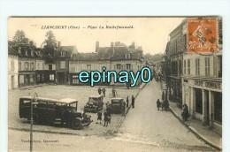 Bf - 60 - LIANCOURT - Place La Rochefoucauld - Autocar - Car - Banque Crédit Lyonnais - édition Vandenhove - Liancourt
