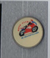 Pin´s  Sport  MOTO  CLUB  De  GRANDVILLARS  ( 90 ) - Motos
