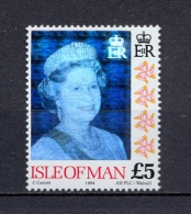 Iles Of Man 1994 - Queen Elisabeth II – Hologram - Isola Di Man