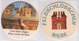 Feldschlösschen Brauerei Schweiz , Une Biere Digne D Un Conte De Fees - Bierdeckel