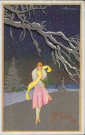Carte Postale Du Nouvel An ,neuve,superbe - Illustrator Adolfo Busi - Busi, Adolfo
