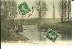 CPA  BARSAC, Les Bords Du Ciron 10696 - France